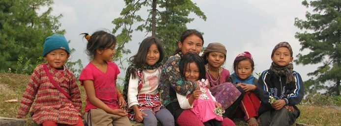 Trip for Welfare - the gorgeous Nepali local kids